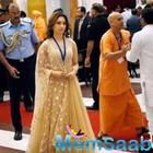 Tamannaah Bhatia Gets Felicitated By The President Of India