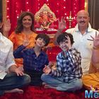 Hrehaan And Hridhaan Celebrates Ganpati With Their Family