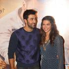 Deepika, Ranbir And Imtiaz At The Trailer Launch Of  Tamasha