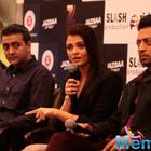 Aish And Irrfan Promote Jazbaa In Delhi
