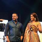 Salman And Sonam For PRDP Promotions At Ahmedabad