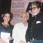 Big B And Shabana Azmi Unveiled A Book Launch In Mumba