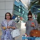Kareena And Babita Return To Mumbai