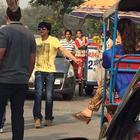 Shahrukh Khan In Hometown Delhi For Fan Shooting