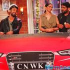 DP And RK With Team At CNWK For Tamasha Promotion