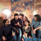 Ranveer Visited To Tamasha Team During Promotional Event
