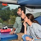 Tamasha Team Train Journey For Their Movie Promotion