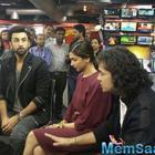 Ranbir,Imtiaz And Deepika's Tamasha Promotion In Delhi