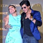 Kajol And Shah Rukh At Dilwale Song Launch