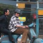 Amitabh Bachchan Scooter Ride In Kolkata For Te3n