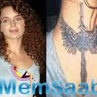 Babes of Bollywood with their Tattoos