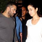 At Suburban night spot Katina kaif spotted with Ex-boyfriend Salman Khan