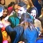 Ranveer spotted at an educational organization