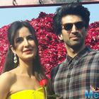 Aditya makes Katrina feel special on the Rose day at pink city Jaipir