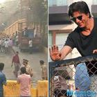 For Illegal ramp outside 'Mannat', SRK has been Fined 1.93 Lakh