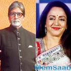 Megastar Big B and Hema Malini get together for 'Maharashtra Night'