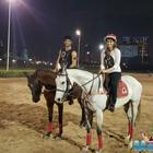 New still from Raabta, Kriti and Sushant enjoy horse riding