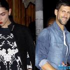 Deepika has a dinner with tennis star,Novak Djokovic last night in LA