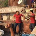 Sneak pics of Salman and Anushka on the circle of the Sultan