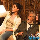 Big B and Taapsee having fun on the sets of Shoojit  Sircar's next