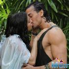 In Baaghi Tiger Shroff locks lips with Shraddha Kapoor