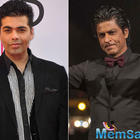 SRK will be KJo's first guest on Koffee With Karan Season 5