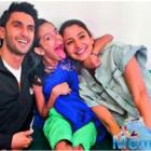 Anushka Sharma and Ranveer Singh make a fan's day