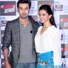 Ranbir Kapoor in secret met ex-girlfriend Deepika Padukone in LA.