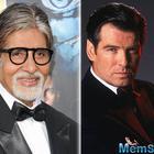 Amitabh Bachchan's James Bond look for a magazine shoot