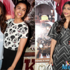 Alia,Sonam and Parineeti attend Arjun Kapoor's Ki and Ka screening
