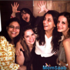 Preity Zinta parties with Sussane Khan