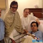 Amitabh Bachchan tweets Dilip Kumar doing fine