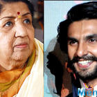 Ranveer Singh: Wins over the melody queen Lata Mangeshkar