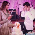 Unseen pictures from Bipasha Basu and Karan's monkey wedding