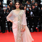 Sonam doesn't think about the feedback of her red carpet look