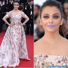 She looked fantastic, Abhishek said on Aishwarya's purple pout at Cannes