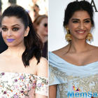 On Aishwarya's purple lipstick, Sonam said  Aish opted it because she wanted to be