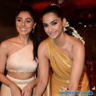Sonam walks the ramp for Pernia Qureshi's