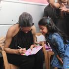 Deepika Padukone met her most adorable little fan at Mehboob Studios