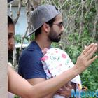 New parents Mira-Shahid Kapoor return home with their baby girl