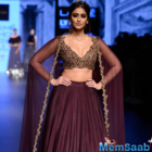 Lakme Fashion Week 2016: Ileana descends like a princess in Ridhi Mehra's  cape lehenga