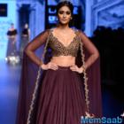 Lakme Fashion Week 2016: Ileana descends like a princess in Ridhi Mehra's  cape lehenga