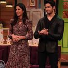 Kat and Sid promotes Baar Baar Dekho on the sets of The Kapil Sharma Show