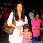 Aishwarya returns from Dubai trip with daughter Aaradhya