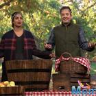 Desi girl Priyanka Chopra beats Jimmy Fallon again, in an apple bobbing contest.
