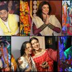 Bollywood Durga pooja celebration