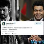 Karan Johar: Saw Dangal, I have not seen a better film in a decade