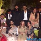 Sonam with her rumoured beau Anand Ahuja at cousin's party