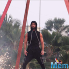 Shahid's stunts at his fashion brand Skult's launch