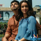 Arjun-Shraddha on the set's of 'Half Girlfriend' in Varanasi